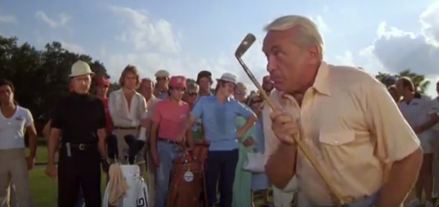 Caddyshack Minute 90 This Looks Like an Episode for the Old Billy Baroo